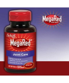 Schiff MegaRed Joint Care 60 Softgels