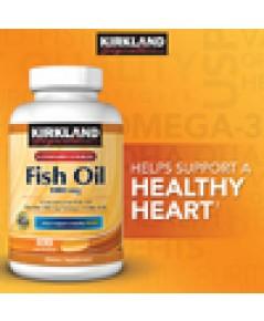 Kirkland  OMEGA-3 fish oil1000mg 400 SOFTGELS
