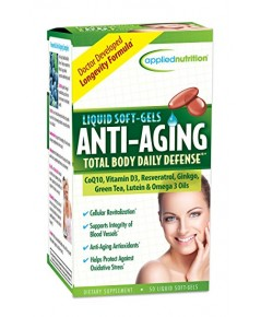 Applied Nutrition Anti-Aging Total Body Daily Defense 50 softgels