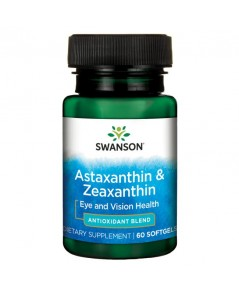 swanson ultra Astaxanthin  Zeaxanthin 60 Softgels