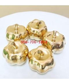 ผอบทองเหลืองแท้ 2 นิ้ว (5ชุด)
