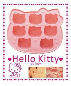 แม่พิมพ์เค้กซิลิโคน Hello kitty 8 ช่อง  ขนาด 40 กรัม ราคา 150 บาท