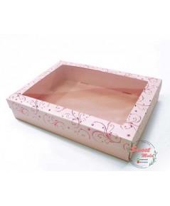 กล่องของขวัญเมทัลลั๊ค ปั๊มฟอยล์ แพ็ค10ชิ้น ขนาด 19.1x26.7x5.1cm