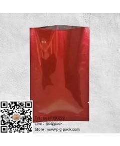 ซองฟลอย์สีแดง ขนาด 7x10cm