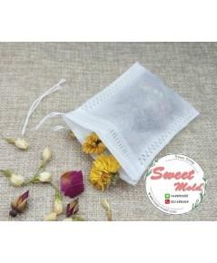 ซองถุงเยื้อกระดาษแบบหนา (ซองใส่ชา) ขนาด 8x10 cm.