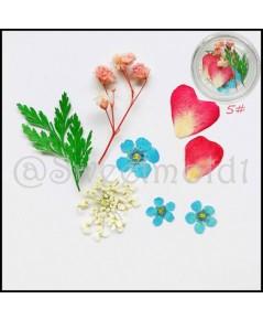 ดอกไม้ตกแต่งสบู่5 1ชุด