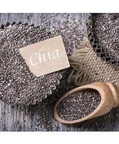 เม็ดเจีย(Chia Seeds)เกรดอาหาร ขนาด225กรัม