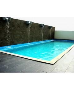 Sedimentary rock pool