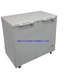 ตู้แช่แข็ง ฝาทึบ2บานโช๊คอัพ Sanden Intercool รุ่น SNQ-0403 (14.13 คิว)