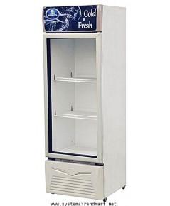 ตู้แช่เย็นกระจก1ประตูSPA-0253D41A (9.5 คิว / 267 ลิตร)