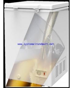 ตู้แช่เบียร์วุ้นฝาทึบโช๊คอัพSanden Intercool รุ่น SSQ-0253 (8.83 คิว)