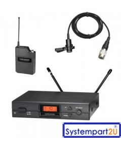 ATW-2110a/AT831cW ยี่ห้อ Audio-Technica UHF Wireless ไมค์ไวร์เลสติดปกเสื้อ1 ตัวรับ1 เบลทแพ็ค1ราคาถูก
