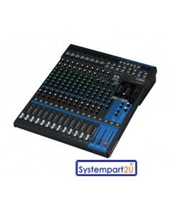 MG16XU ยี่ห้อ YAMAHA มิกเซอร์ Mixing 16Input 8mono 4 stereo 4 GROUP Buses 1 Stereo4 AUX มีUSBราคาถูก
