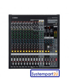MGP16X ยี่ห้อ YAMAHA มิกเซอร์อนาล็อก Mixing 16Line Input 8mono 4 stereo 10 Mic 48V Phantom  ราคาถูก