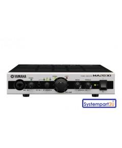 MA2030 ยี่ห้อ Yamaha Mixing Amplifier 2Mic 3 Stereo input 30Wx30W Feedback Canceller,RJ45 ราคาถูก
