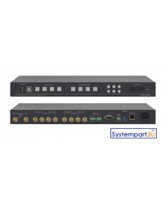 VS-44HDXL ยี่ห้อ Kramer Matrix Switcher 4x4 3G HD-SDI Control RS–232, RS–485, Ethernet  IR ราคาถูก
