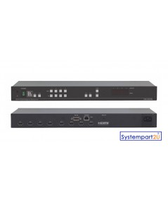 VS-44HN ยี่ห้อ Kramer 4x4 HDMI Matrix Switcher HDMI Input 4 Output 4 UXGA 1080P ราคาถูก