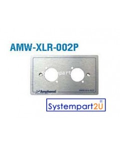 AMW-XLR-002P ยี่ห้อ  Amphenol Audio Outlet Panel for XLR 2 Port สำหรับงานระบบเสียง ราคาถูก