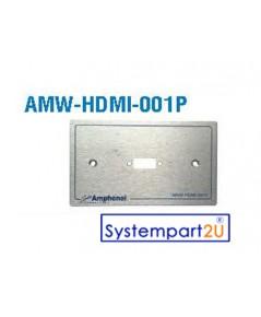 AMW-HDMI-001P ยี่ห้อ  Amphenol Audio Video Outlet Panel for HDMI 1 Port ราคาถูก