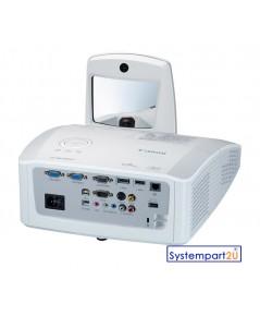LV-WX300USTi ยี่ห้อ Canon DLP Projector WXGA 3000 LM 1280x800 Ultra Short Throw interractive ราคาถูก