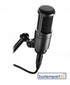 AT2020 ยี่ห้อ Audio-Technica Cardioid Microphone Frequency 20-20,000 Hz , On/off Switch ราคาถูก