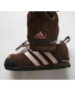 *ขายแล้ว*[used มือสอง] รองเท้าเด็ก Adidas Daroga สีน้ำตาล ไซส์ 5.5 us