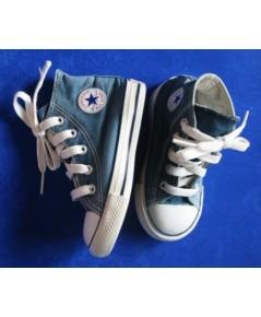 *ขายแล้ว*[used มือสอง] รองเท้าเด็ก Converse All star Hi สีน้ำเงิน ไซส์ 6 usa