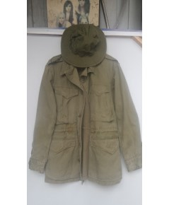 มือสอง - เสื้อแจ็คเก็ตทหาร ของแท้ สภาพสวย หายาก พร้อมส่งค่ะ