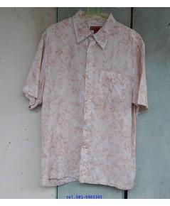 เสื้อเชิ้ต ฮาวาย แบรนด์ guess มือสอง สวยมาก ผ้านิ่มใส่สบาย ไซส์ M