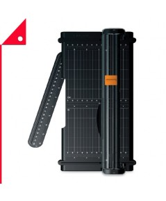 Fiskars : FSK01-005454* แท่นตัดกระดาษ SureCut Portable Trimmer 12 Inch Cut, Black