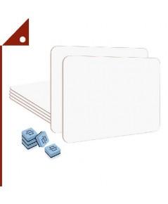SCRIBBLEDO : SCB912-TRM* กระดานไวท์บอร์ด Dry Erase Lap Board 9 X 12-Inch, 6-pk