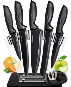 Home Hero : HHRAMZ002* มีดทำครัว Chef Knife Set Knives Kitchen Set, 7 Piece