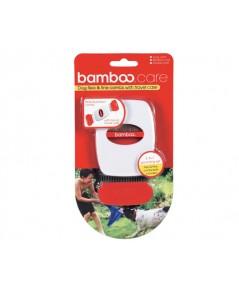 Bamboo : 90091 ที่แปรงขน Dog/Cat Flea  Fine Combs With Travel Case