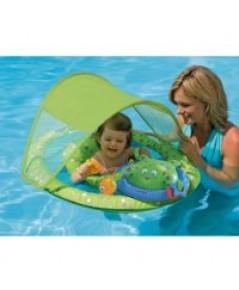 Swim Ways : SWY11601* ห่วงยางแบบมีหลังคา Baby Spring Float Activity Center(Blue)