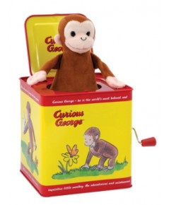 SCL CJB*: Curious George Jack in the Box