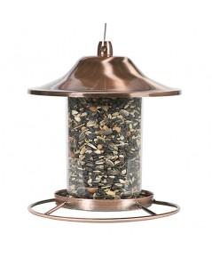 Perky Pet : PKP312C* ที่ให้อาหารนก Copper Panorama Bird Feeder