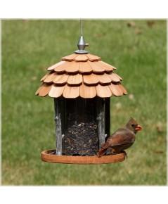 Perky Pet : PKP50129* ที่ให้อาหารนก Birdscapes Wood Gazebo Feeder