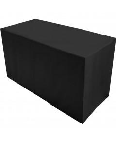 Levinsohn : LVSTAT950XXBLAC58* ผ้าคลุมโต๊ะ Special Length Cloth for Folding Table, 4-Feet, Black