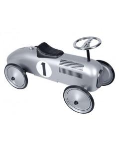 Schylling : SCLMSR* รถเด็กเล่น Silver Racecar Metal Speedster