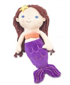 Green Point : GRP42119 ตุ๊กตาผ้า Good Earth Fairy - Bruette Mermaid
