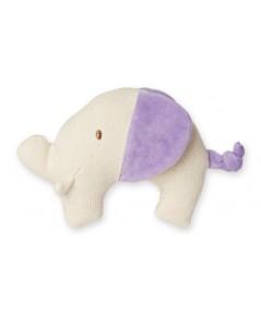 Green Point : GRP46052 ยางกัดแบบผ้า Canvas Natural Teether: Elephant - Purple
