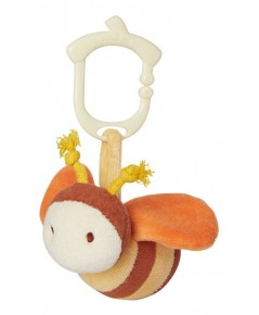Green Point : GRP46305 ตุ๊กตาติดรถเข็น Clip\'n go Toy - bumble bee