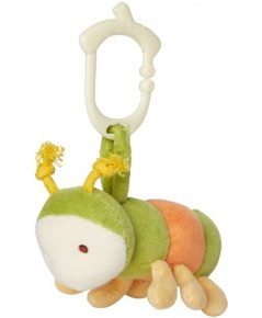 Green Point : GRP46307 ตุ๊กตาติดรถเข็น Clip\'n go Toy - catepillar