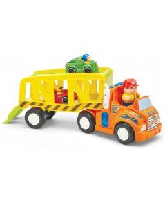 International Playthings : IPLG02467 รถดับเพลิงของเล่น Zoom \'n Go Car Carrier