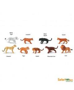 Safari Ltd. : SFR694604* โมเดลแมวยักษ์ Big Cats