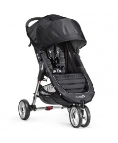 Baby Jogger : BJGBJ11410* รถเข็นเด็ก City Mini Stroller In Black, Gray Frame