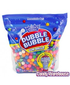 CDW 125003*: Candy Warehouse Dubble Bubble Gumball Refill