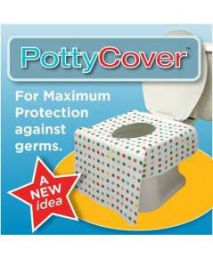 PottyCover : PCO10964* แผ่นรองชักโครก Disposable toilet seat covers