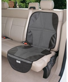 Summer Infant : SMI77724A* ที่นั่งกันเปื้อน Duo Mat 2 In 1 Car Seat Protector - Black/Grey