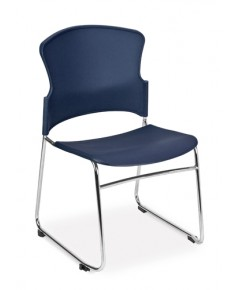 OFM : OFM310-P-A11* เก้าอี้สำนักงาน Multi-Use Stacker Chair with Plastic Seat  Back